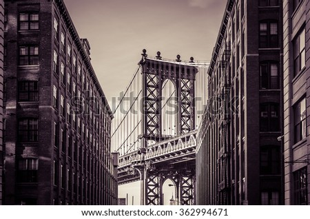 Manhattan Bridge #362994671