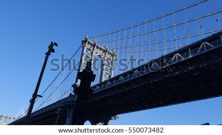 Manhattan bridge #550073482