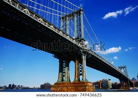 Manhattan bridge #749436625