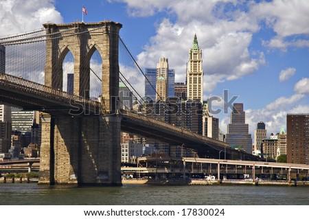 Manhattan Bridge and Lower Manhattan