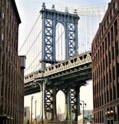 Manhattan Bridge at Dumbo