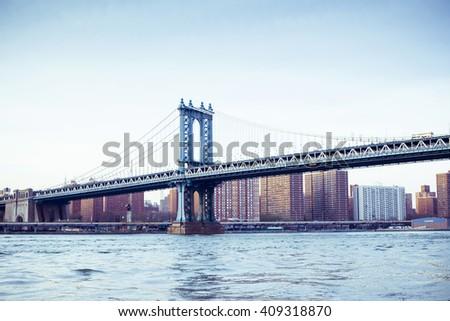 manhattan bridge  manhattan new ...