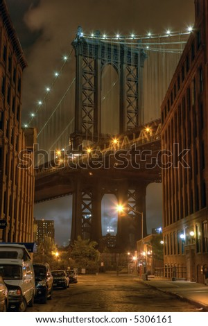 Manhattan  bridge, New york,United states of America
