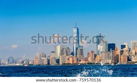 Manhattan Downtown, New York, NY, United States of Americs #759570136