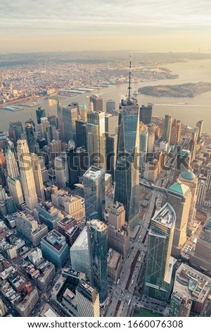 Manhattan/ New York City from above