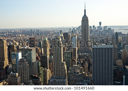 Manhattan, New York City. USA. #101491660