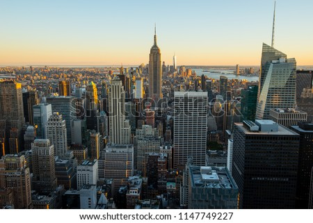 Manhattan - New York City - USA.  #1147749227