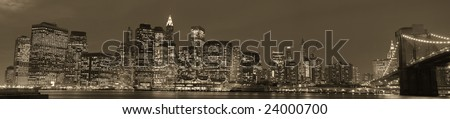 Manhattan skyline #24000700