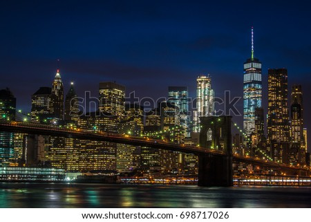 Manhattan Skyline #698717026
