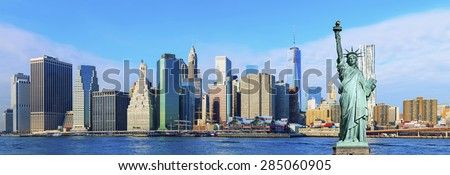 Manhattan Skyline ,New York City #285060905