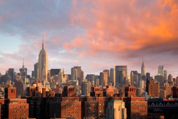 Manhattan skyline New York City, United State