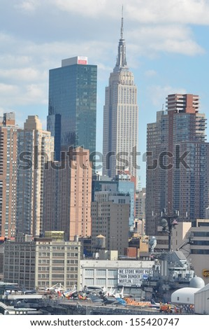 Manhattan Skyline with Empire State Building