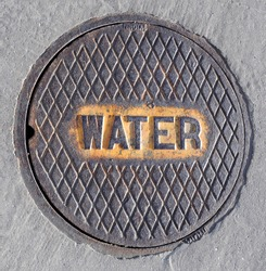 Manhole Cover for Water Utility Access
