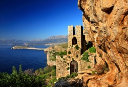 MANI, PELOPONNESE, GREECE. The