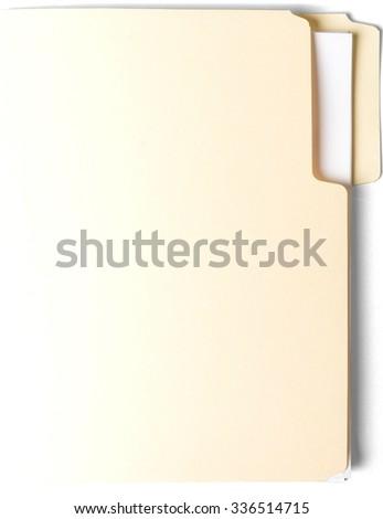 Manila Folder - Isolated #336514715