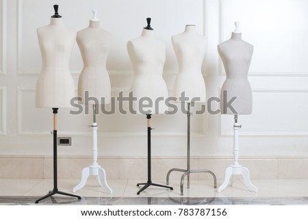 Mannequin for sewing