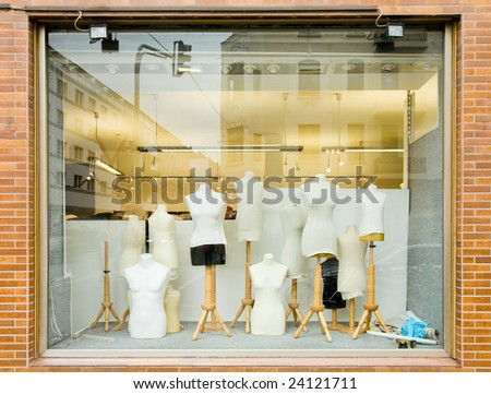 Afashionstore.com Mannequins in a fashion store