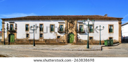 Manor house of Saraivas in Vilar Torpim, Portugal