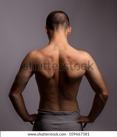 Mans Back On Stock Photo 109667381 : Shutterstock