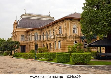 Mansion house.