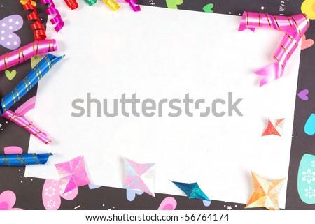 Manual Kanban card blank made