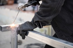 Manual Metal Arc Welding rack