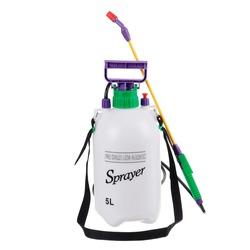 Manual Sprayer Hand Pressure Pump Sprayer Adjustable Nozzle 5 liters for garden and auto. Sprayer Gardening Watering Accessories