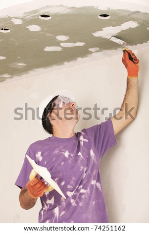 Manual worker - stock photo