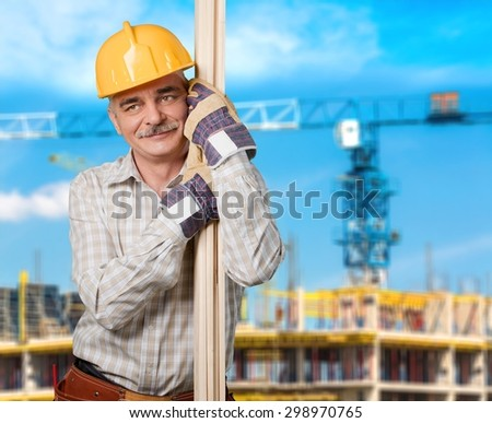 Manual Worker, Construction, Construction Worker.
