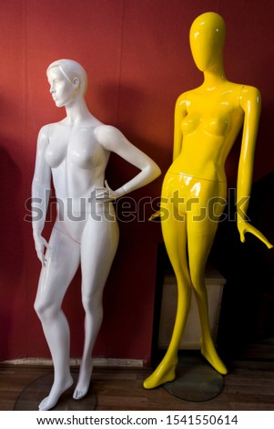 Manufacture of fake mannequins, various mannequins.