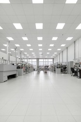 Manufacture of industrial electronics. Shop assembly of electronic components and cables.