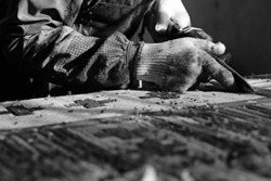 manufacture of oriental carpet