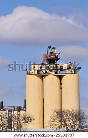 manufacturing plant exterior