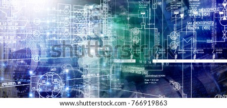 manufacturing technology conceptual #766919863