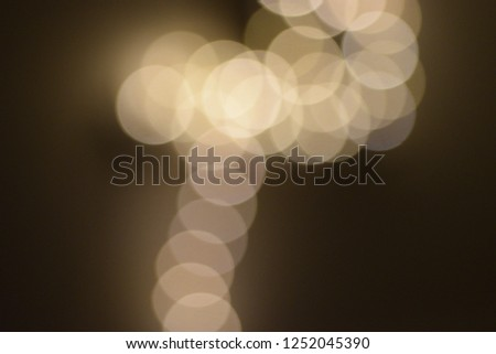 many bright blurry circles overlapping against dark background, design element #1252045390