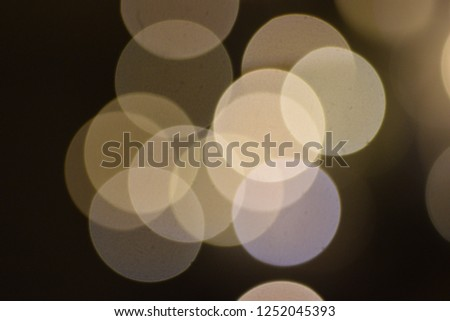 many bright blurry circles overlapping against dark background, design element #1252045393