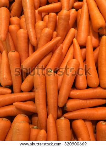 Many Carrot vegetable high vitamin and calcium , good for health