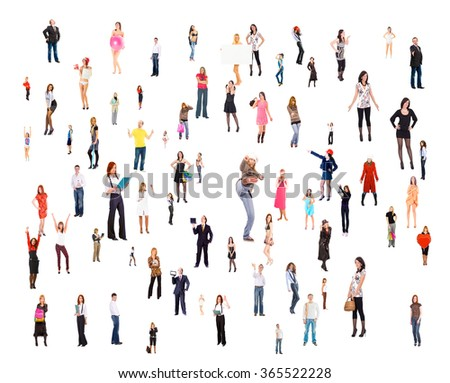 Many Colleagues United Company  - Shutterstock ID 365522228
