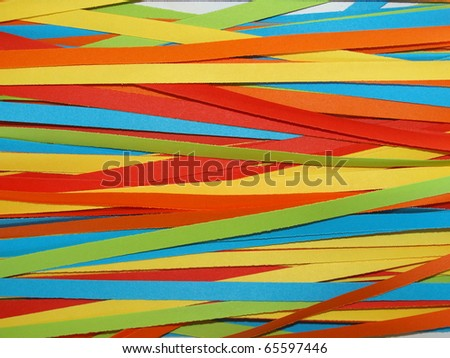 Many coloured carnival confetti useful as a background