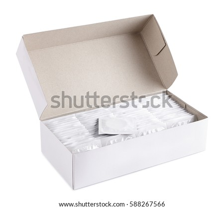 many condoms in a box, �ontraception production