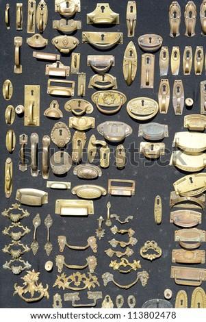 many decorative key hole for...