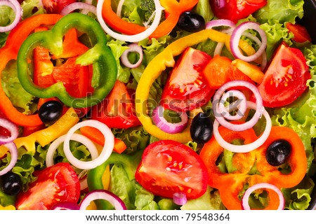 many delicious summer vegetables