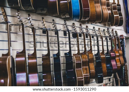 many guitars in-store musical instruments b n