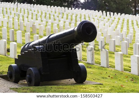 Many men have fallen in war and some are laid to rest here