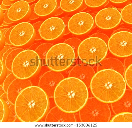 many oranges are beautiful orange background