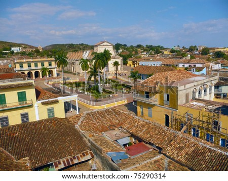 Many poverty shacks in the Cuba