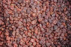 Many Raisins for background grape raisin texture