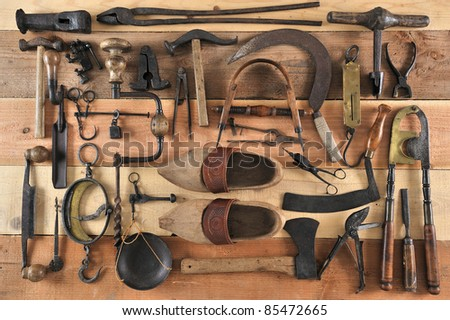 many tools of the past