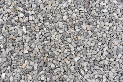 Many type of gravel pebble for Texture Background