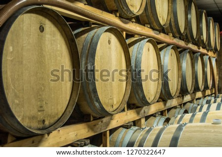 Many wine containers. #1270322647